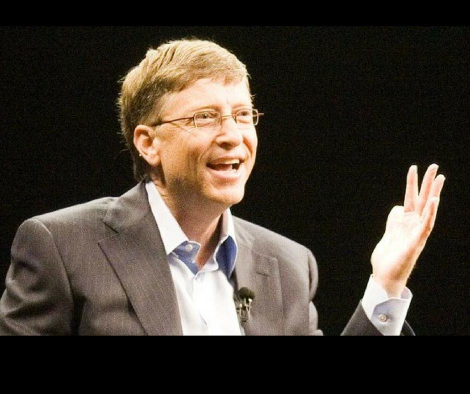 Bill Gates - secret de la vie - être heureux