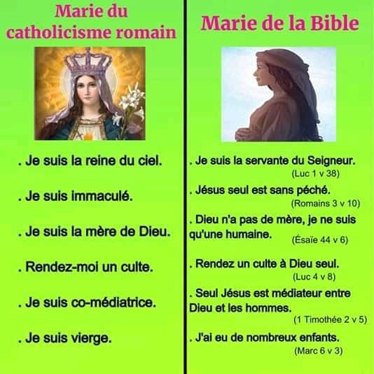 QUE DIT LA BIBLE AU SUJET DE MARIE (ou encore VIERGE MARIE)? Marie la mère de Jésus était une femme décrite par Dieu comme ayant reçu une « faveur immense » (Luc 1.28, Bible anglaise King James).