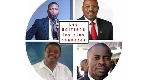 La liste des haïtiens les plus honnêtes et sérieux..