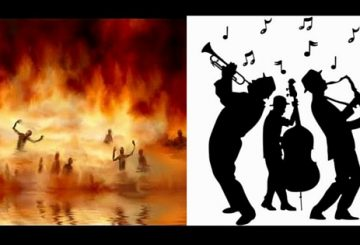 Les musiciens chrétiens qui se dirigent vers l'enfer..