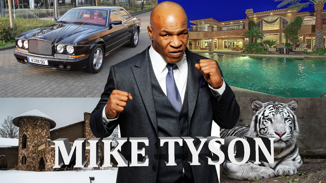 Mike Tyson ses dépenses extravagantes