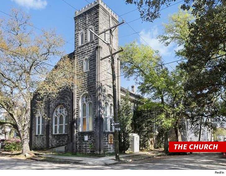 beyoncé a acheté un bâtiment d'église pour $850,000..