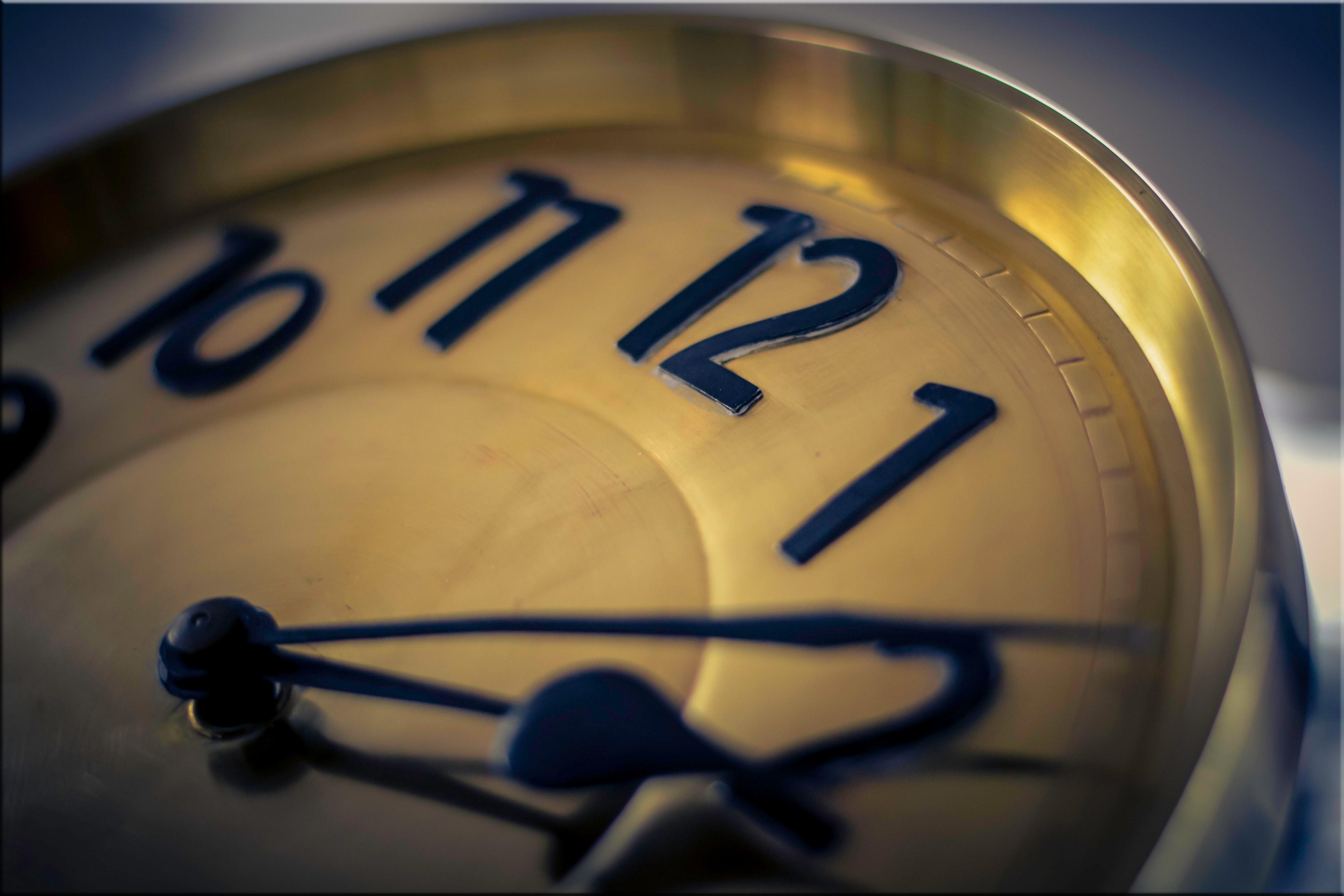 Nous avons un temps limité, la vie est courte