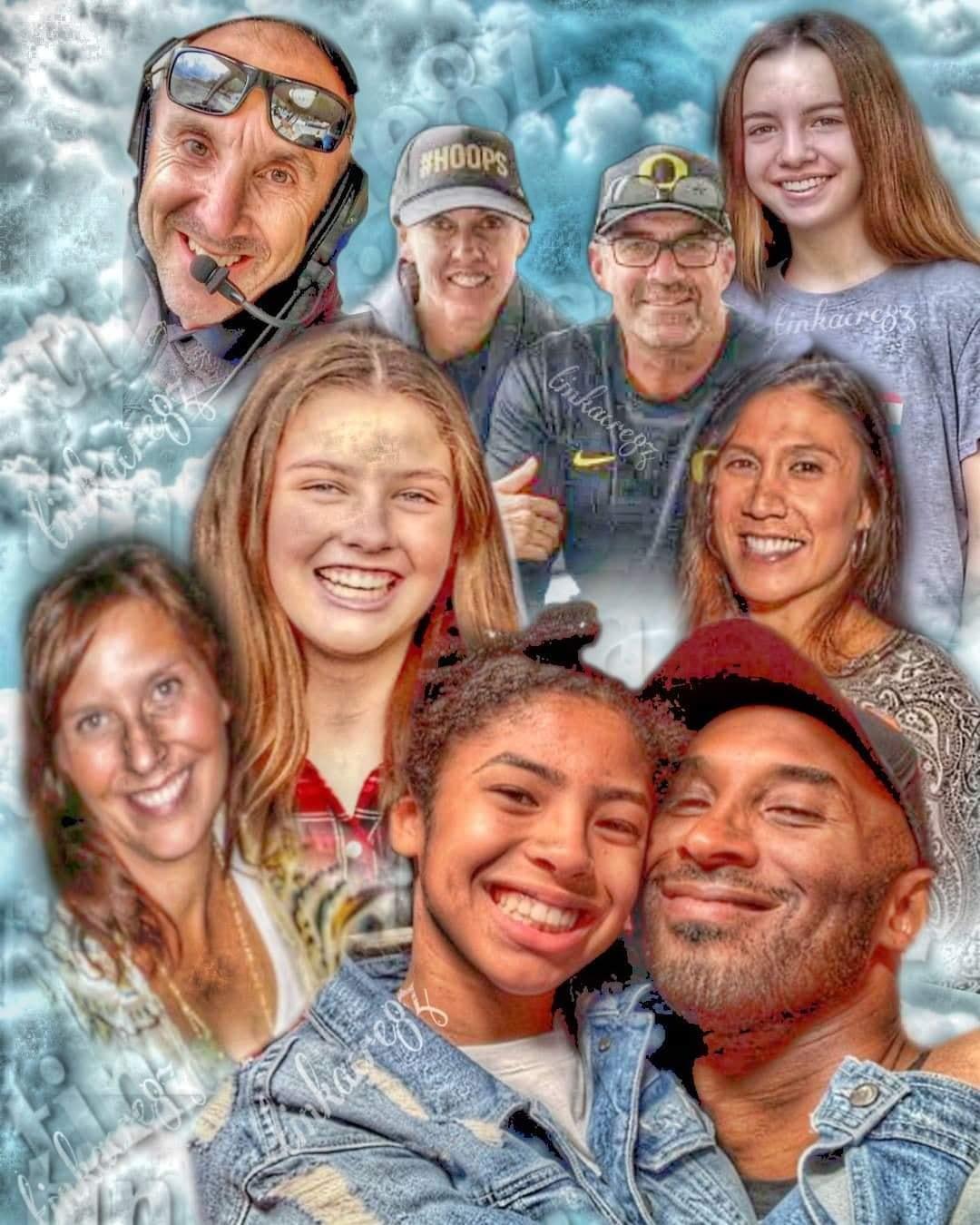 les 9 victimes dans l'accident d'avion de kobe bryant