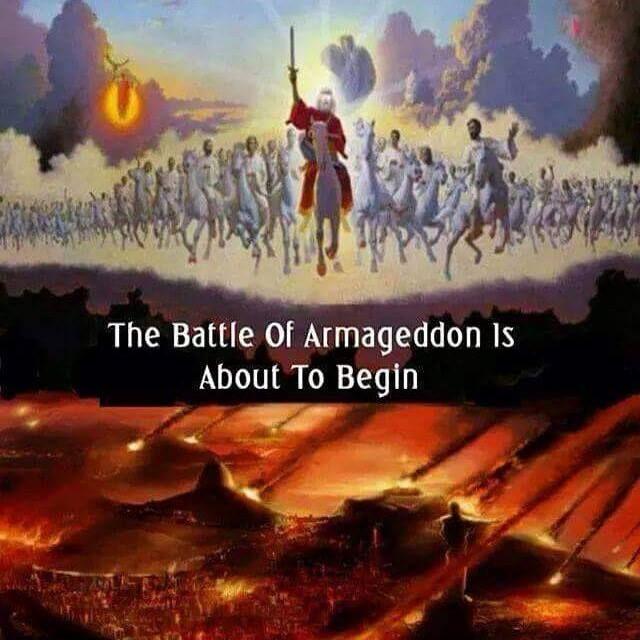 Le mot réel pour «Armageddon» n'apparaît qu'une seule fois dans la Bible (Apocalypse 16:16). Même si la majeure partie du Nouveau Testament est écrite en grec, cela vient du mot hébreu qui signifie, « Mont Megiddo« ,